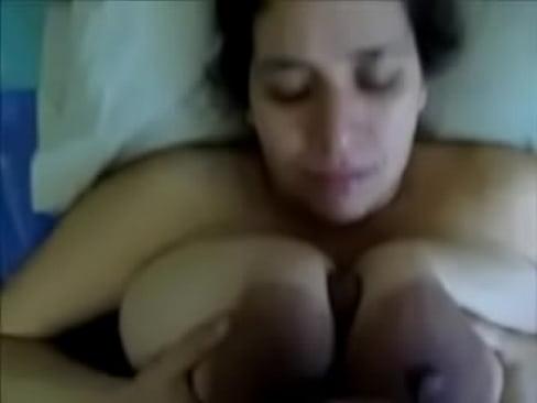 Skinny Big Boobs Masturbate