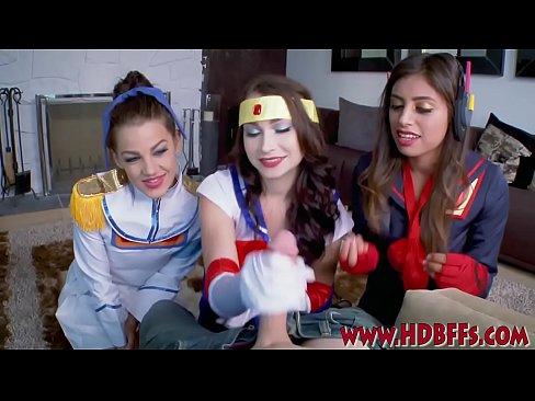 with Teens braces suck cock girls