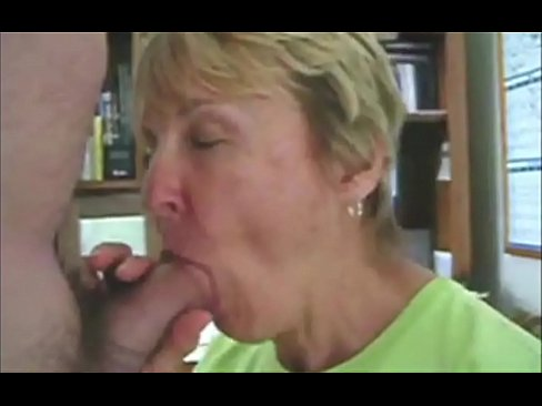 Grandmother sucking dick