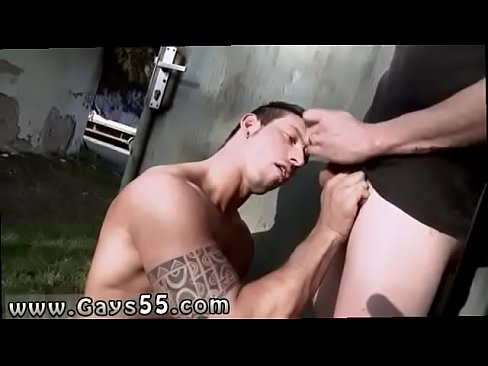 Outdoor gay guys fucking