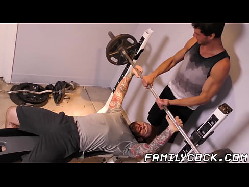 Hunky gays tight ass gets filled