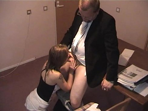 Boss fucks mature secretary