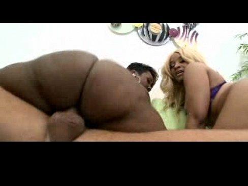 Ebony Riding Dick School