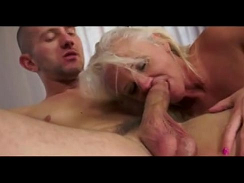 Hairy granny wants your cum on her face 6