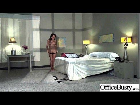 (lezley zen) Sexy Busty Office Girl Bang Hardcore Style video-21