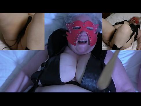 Skycam vista nonna torture con aghi di figa e tette