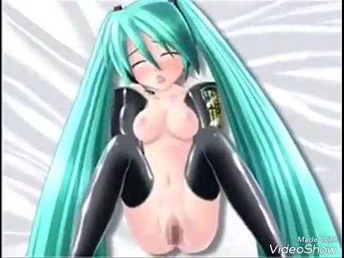 Miku 3D nude