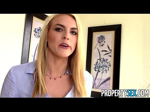 Real estate agent sex clip