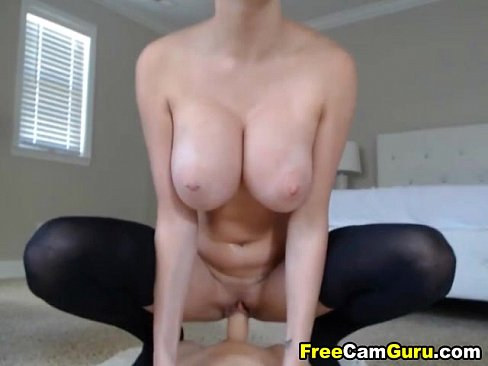 Bouncing Tits While Riding