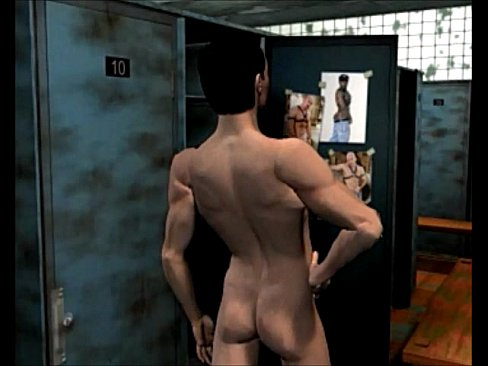 The shower story: 3D Gay Cartoon Comics