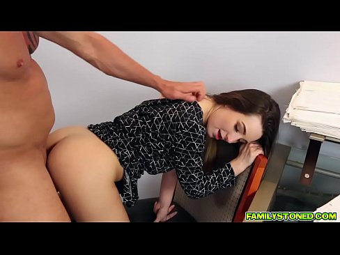 Bambi Brooks pussy fucked by daddys fat cock
