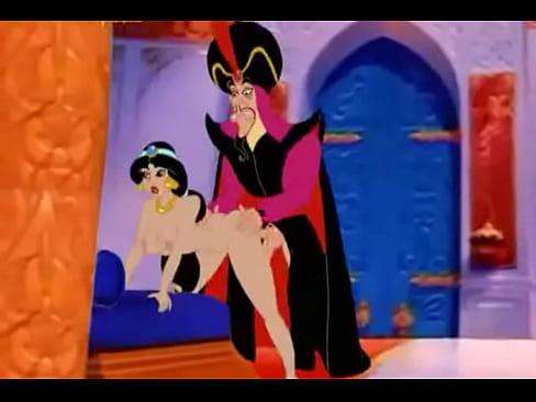 AMALIA: Aladdin Hentai Fucking Video