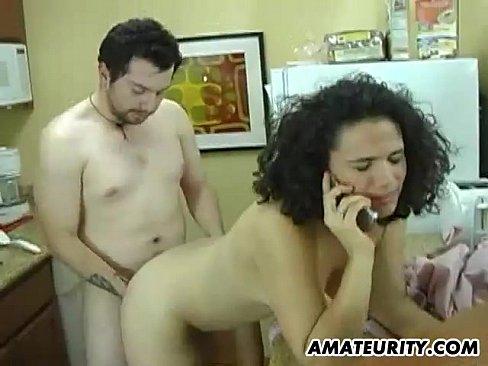 amateurity ten fucked kitchen