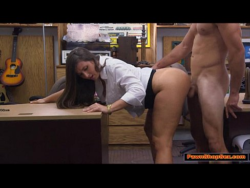 Waitress having sex with cook