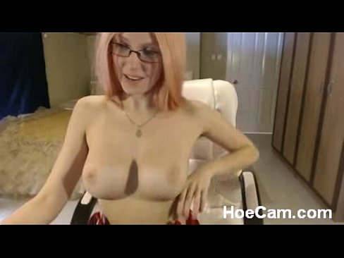 Busty Blonde Milf Solo Webcam