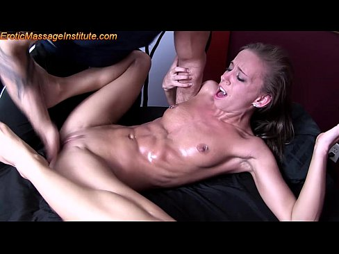 Massage with wand orgasm