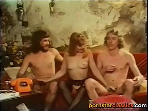 vintage pornstar threesome from 1973
