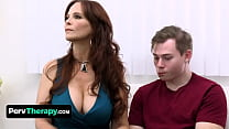 Lucky Teen Boy Pounds His Buxom Step Mother In ...