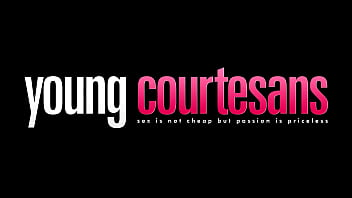 Young Courtesans - Her beautiful tits with big hard nipples just beg to be licked and kissed