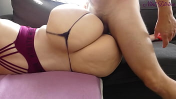 Please fuck me hard my huge ass during my yoga !!!
